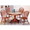 5-Pc Oak Finish Dining Set 5249/5388A (CO)