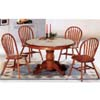 5-Pc Oak Finish Dinette Set 5249/88 (CO)