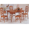 5-Pc Oak Finish Dining Set 5261/5325 (CO)