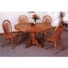 5-Pc Nostalgia Dinette Set In Oak Finish 5264/76A (CO)