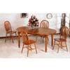 5-Pc Dining Set In Oak Finish 5372/5388A (CO)