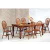 7-Pc Oak Finish Dinette Set 5383/88A/89A (CO)