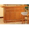 Solid Oak Bar Table 5467 (CO)