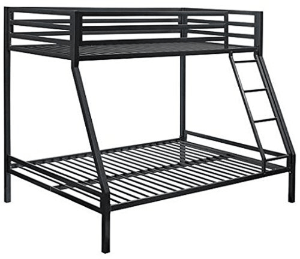 Premium Twin-Over-Full Bunk Bed (Multiple Colors)(450 Lbs Weight Capacity)