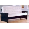 Wood Futon In Cappuccino Finish 5817 (CO)