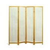 Four Panel Natural Framed Screen 5818(CO)