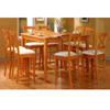 9-Pc Maple Finish Dining Set 5848/5849 (CO)