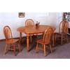 5-Pc Dinette Set In Oak Finish 5866/5288 (CO)
