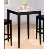 Black Finish Bar Table With Granite Top 5868 (CO)