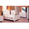 5-Pc White Finish Bedroom Set 5891 (CO)