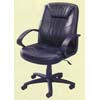 Leather Match Mid- Back Chair With Pneumatic Lift 6071 (IEM)