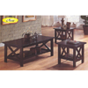 3 Pc Coffee/End Table Set 6176 (Aui)