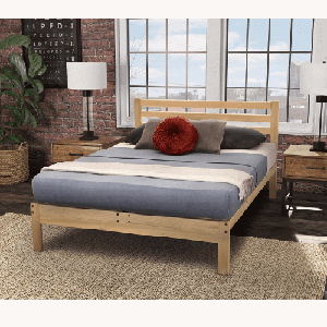Solid Wood Lexington Platform Bed (Multiple Sizes)(600 Lbs Weight Capacity)