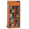 Oak Finish CD Rack 700003 (CO)