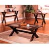 Brown Finish Coffee Table 700078 (CO)