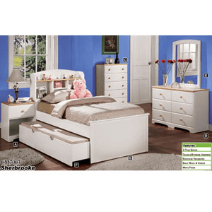 Sherbrooke Bookcase Bed CM7003T (IEM)