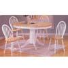 5-Piece Natural/White Finish Dinette Set 7016 (Ai)
