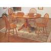 5-Piece Oak Finish Dinette Set 7017 (A)