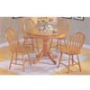 5-Piece Oak Finish Dinette Sets 07021(Au)