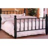 Black finish Metal Headboard And Footboard 7250Q (CO)
