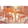 5-Piece Maple Finish Dinette Set 7284 (A)