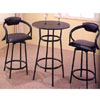 36 In. H  Bar Table W/ 2  R Style Bar Chair 7319/2386 (CO)