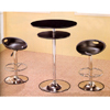 3-Pc Bar Set With Chrome Base 7527/29 (CO)