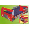 Fire Truck Toddler Cot 76021 (KK)