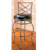 29ÃÃ Metal Bar Stool With Black Cushion Seat 7652 (CO)