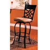 Bar Stool With Tile Back And Cushion Seat 7686 (CO)