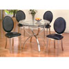 5 Pc Glass Top Dinette Set 7890/7893 (A)