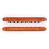 2-Piece 8 Clip Wall Cue Rack 803-8 (TE)