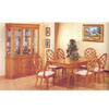 7-Piece Oak Finish Dinette Set 8050 (A)