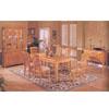 7-Piece Oak Mission Dinette Set 8055 (A)
