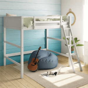 In The Zone Full Size Loft Bed (Multiple Colors)