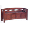 Hardwood Storage Bench 84001WALP (LNFS)