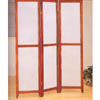Brown Cherry Finish Folding Screen 900066 (CO)