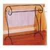 Black Finish Towel/Quilt Rack 900069 (CO)