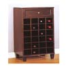 Cappuccino Finish Wine Cabinet 900073 (CO)