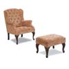 Wing Chair w/ Ottoman 900161 (CO)