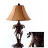 Crackled Finish Lamp 900197 (CO)