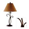 Metal Flower Style Lamp 900307 (CO)