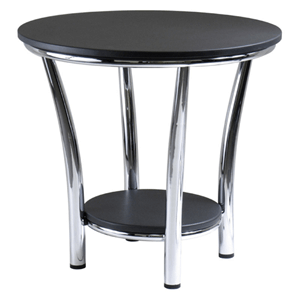 Maya Round Back End Table 93219(WFS)