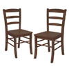 Solid Wood Set Of 2 Hannah Dining Chairs 94232(WWFS)