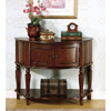 Solid Wood Brown Accent Table 950059(CO)