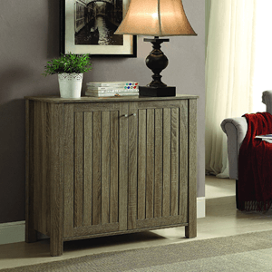 Shoe Cabinet Weathered Grey 950551(COFS)