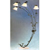 Verdigris Finish Overhead Sofa Lamp 9662VD (TOP)