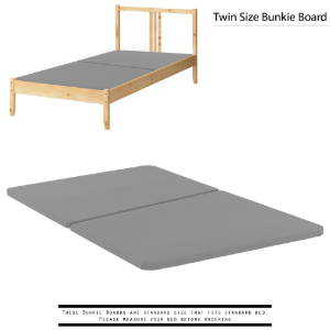 Spinal Solution 1.5 Inch Fully Assembled Split Bunkie Board, Multiple Sizes