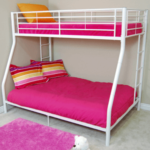 Sunrise Twin / Double Size Bunk Bed BTOD(WE) (Free Shipping)