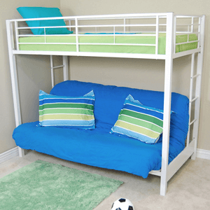 Sunrise Twin / Futon Bunk Bed BTOF_(WEFS)